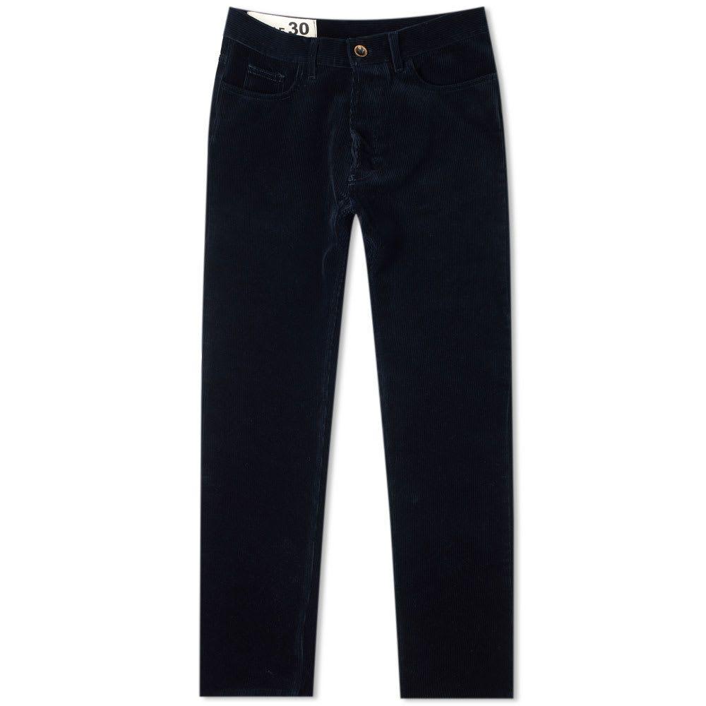 ブルー ドゥ パナム Bleu de Paname メンズ ボトムス・パンツ 【corduroy comfort pant】Navy