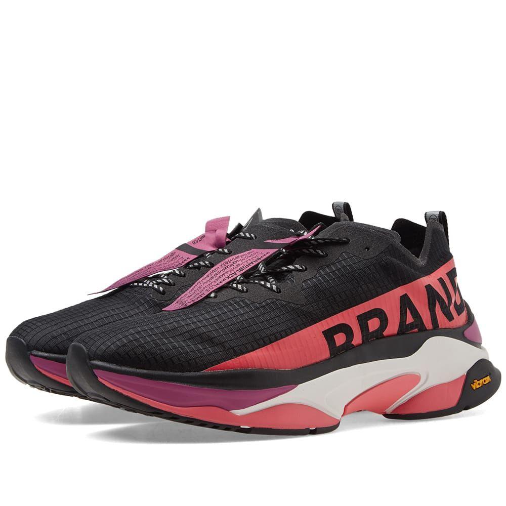 ブランドブラック Brandblack メンズ シューズ・靴 スニーカー【Kite Racer】Black/Pink