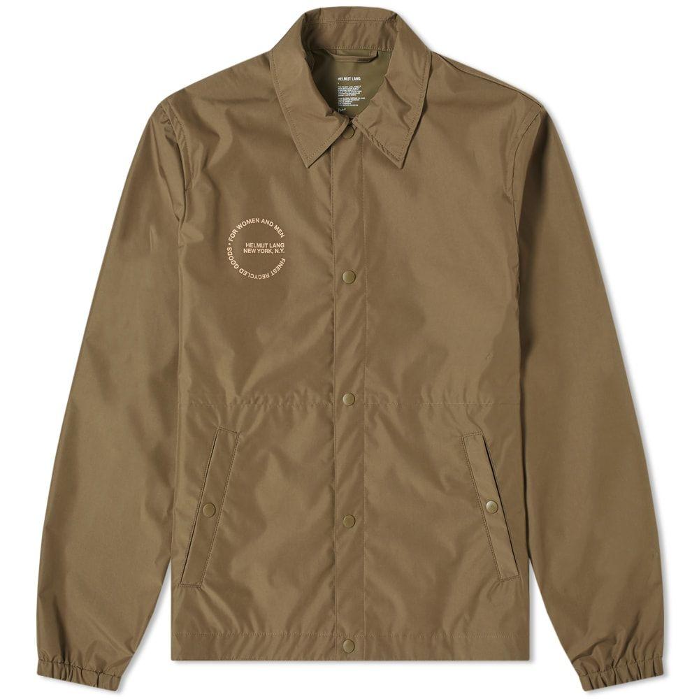 ヘルムート ラング Helmut Lang メンズ ジャケット スタジャン アウター【nylon tech stadium jacket】Dark Resin