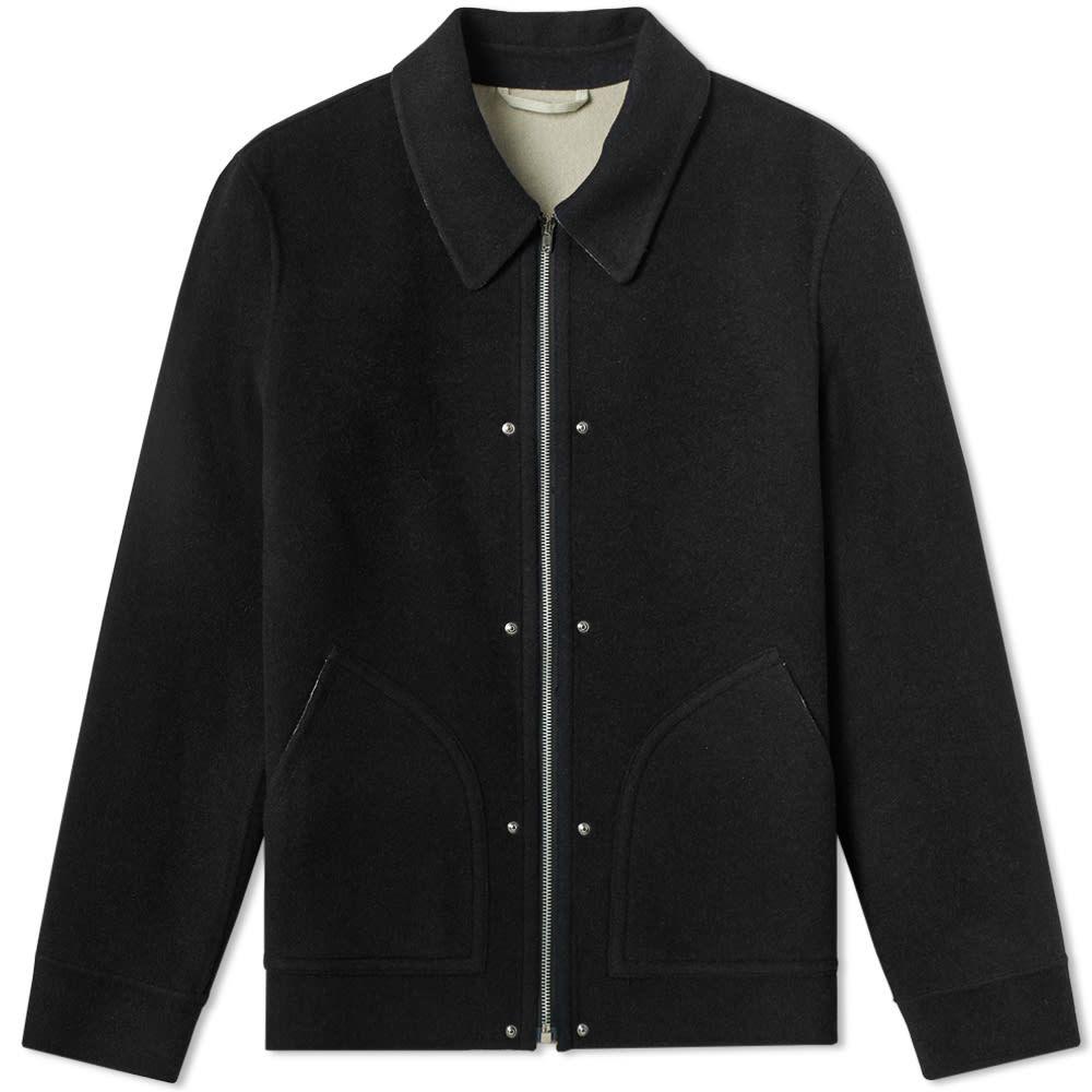 ヘルムート ラング Helmut Lang メンズ ジャケット アウター【logo wool jacket】Black