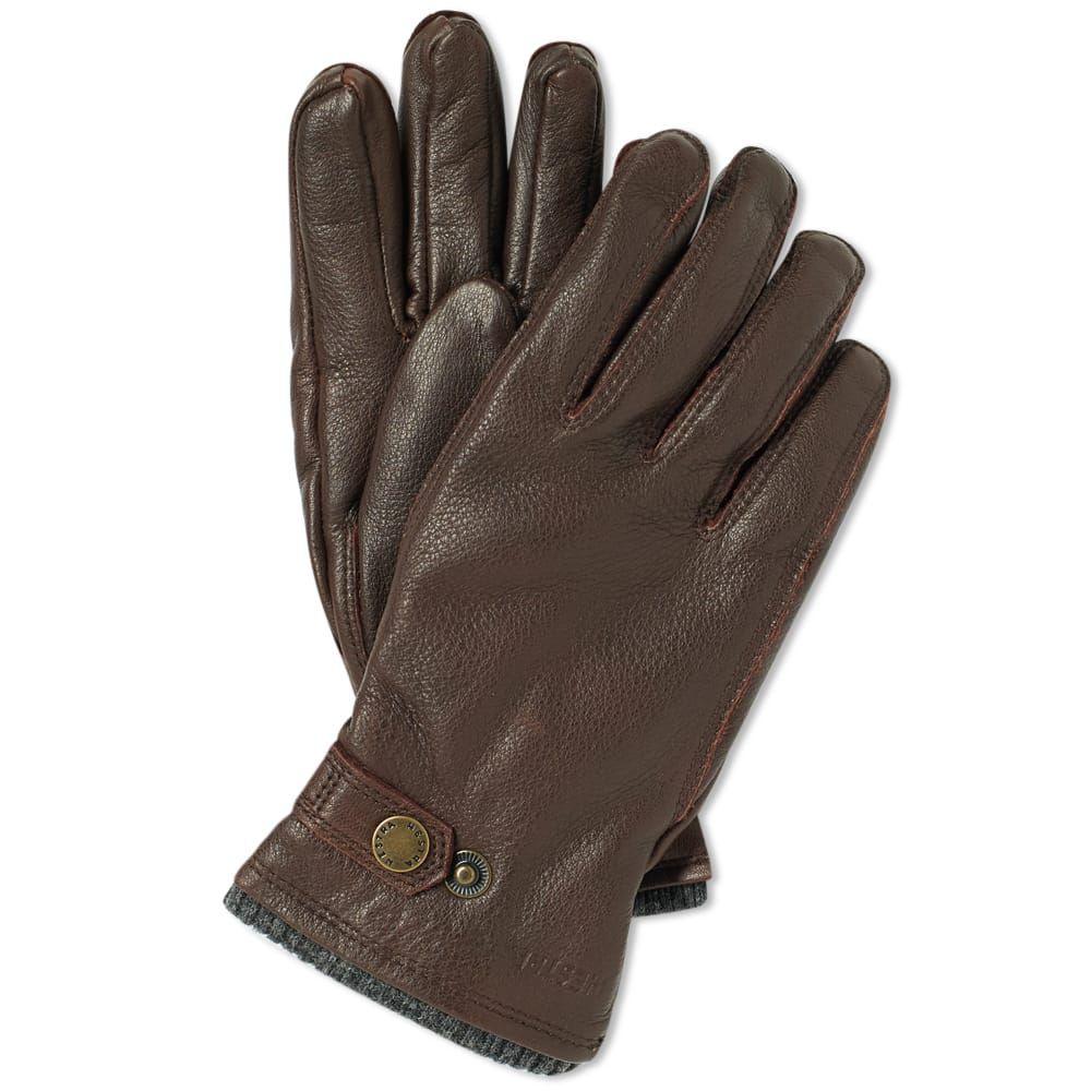 ヘスタ Hestra メンズ 手袋・グローブ 【elk utsjo glove】Espresso