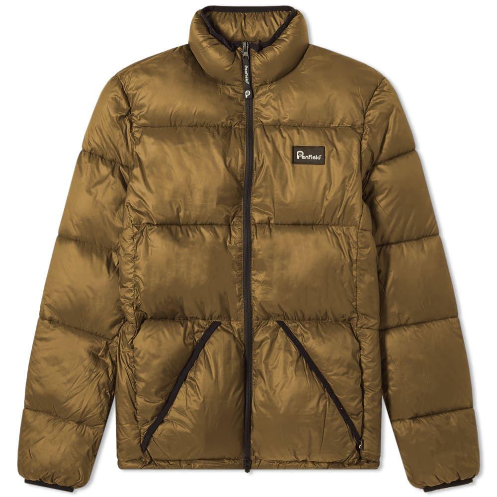 ペンフィールド Penfield メンズ ダウン・中綿ジャケット アウター【walkabout puffer jacket】Olive