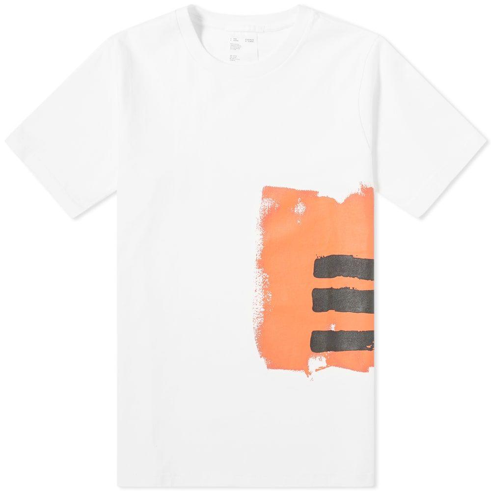 ヘルムート ラング Helmut Lang メンズ Tシャツ トップス【print side tee】White/Red