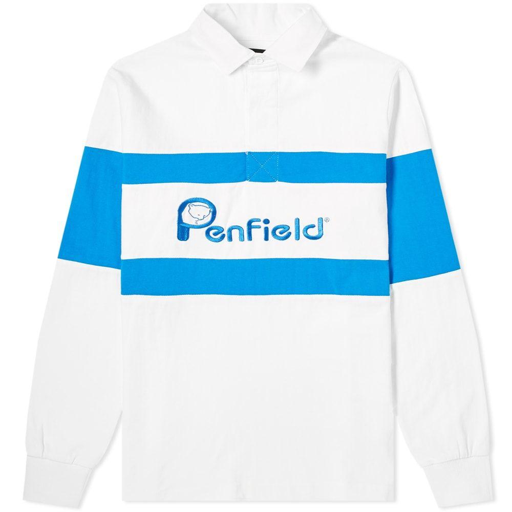 ペンフィールド Penfield メンズ ポロシャツ トップス【cass rugby shirt】White