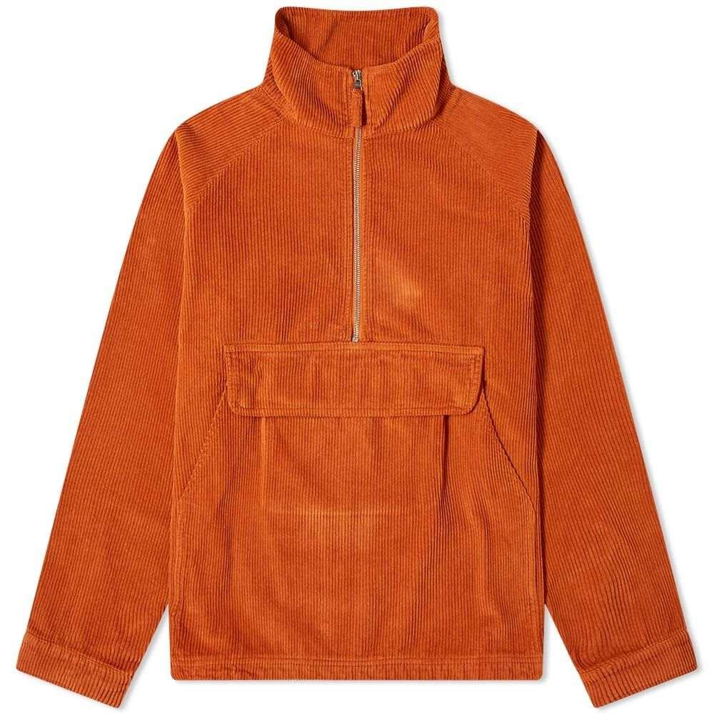 ポップトレーディングカンパニー Pop Trading Company メンズ ジャケット アウター【drs half zip cord jacket】Amber