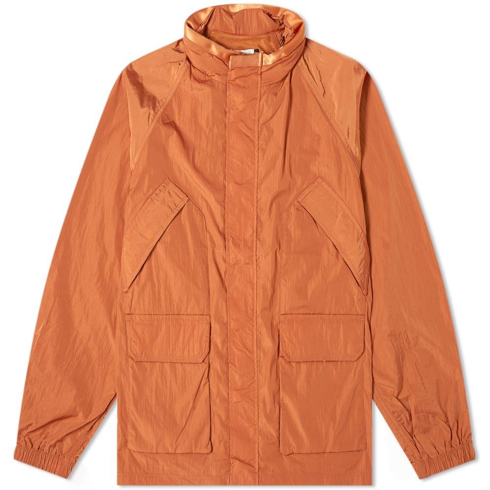 ポップトレーディングカンパニー Pop Trading Company メンズ ジャケット アウター【venice concealed hood jacket】Amber