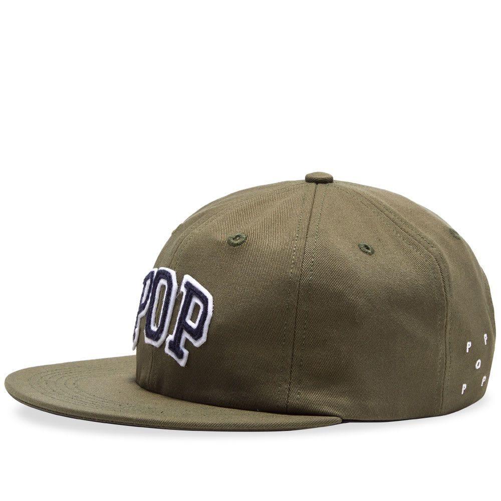 ポップトレーディングカンパニー Pop Trading Company メンズ キャップ 帽子【arch six panel hat】Olive