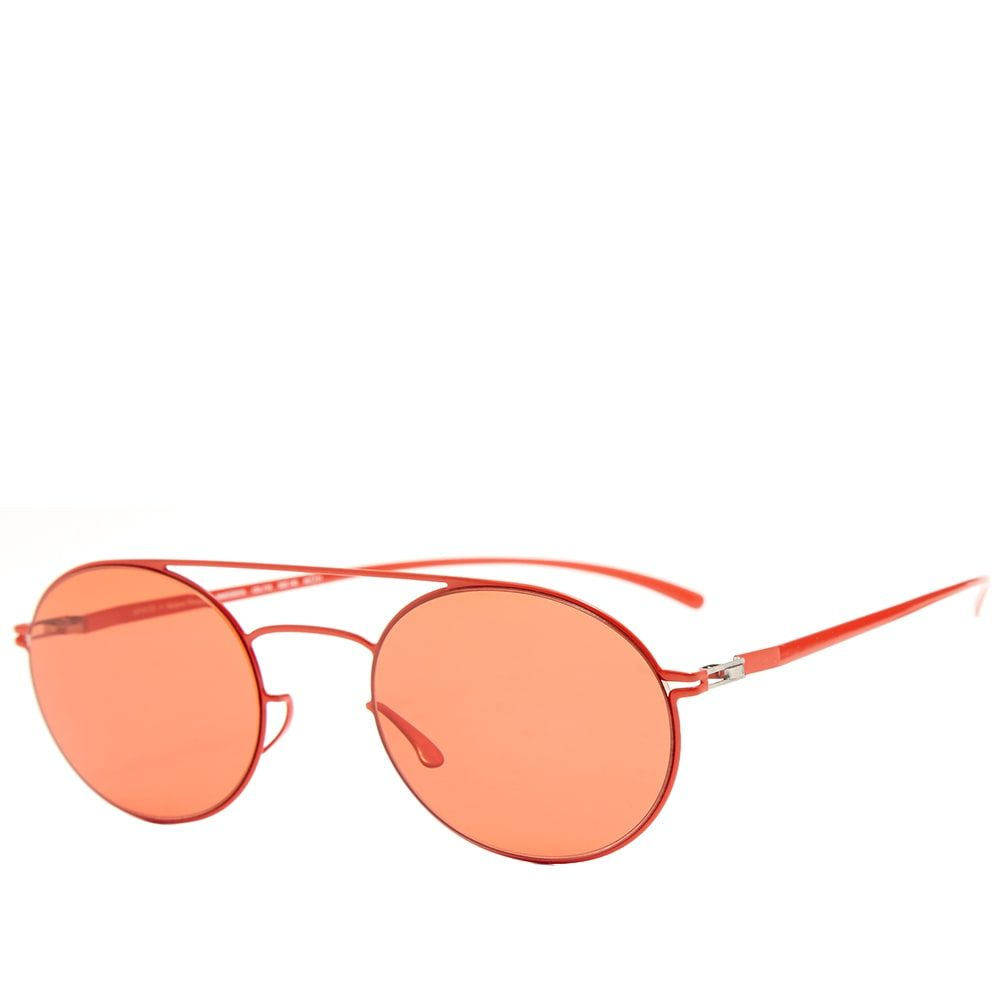 マイキータ MYKITA メンズ メガネ・サングラス 【x maison margiela mmesse019 sunglasses】Baywatch Red/Ultra Red