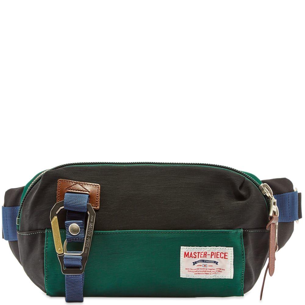マスターピース Master-Piece メンズ ボディバッグ・ウエストポーチ バッグ【link series waist bag】Green/Black