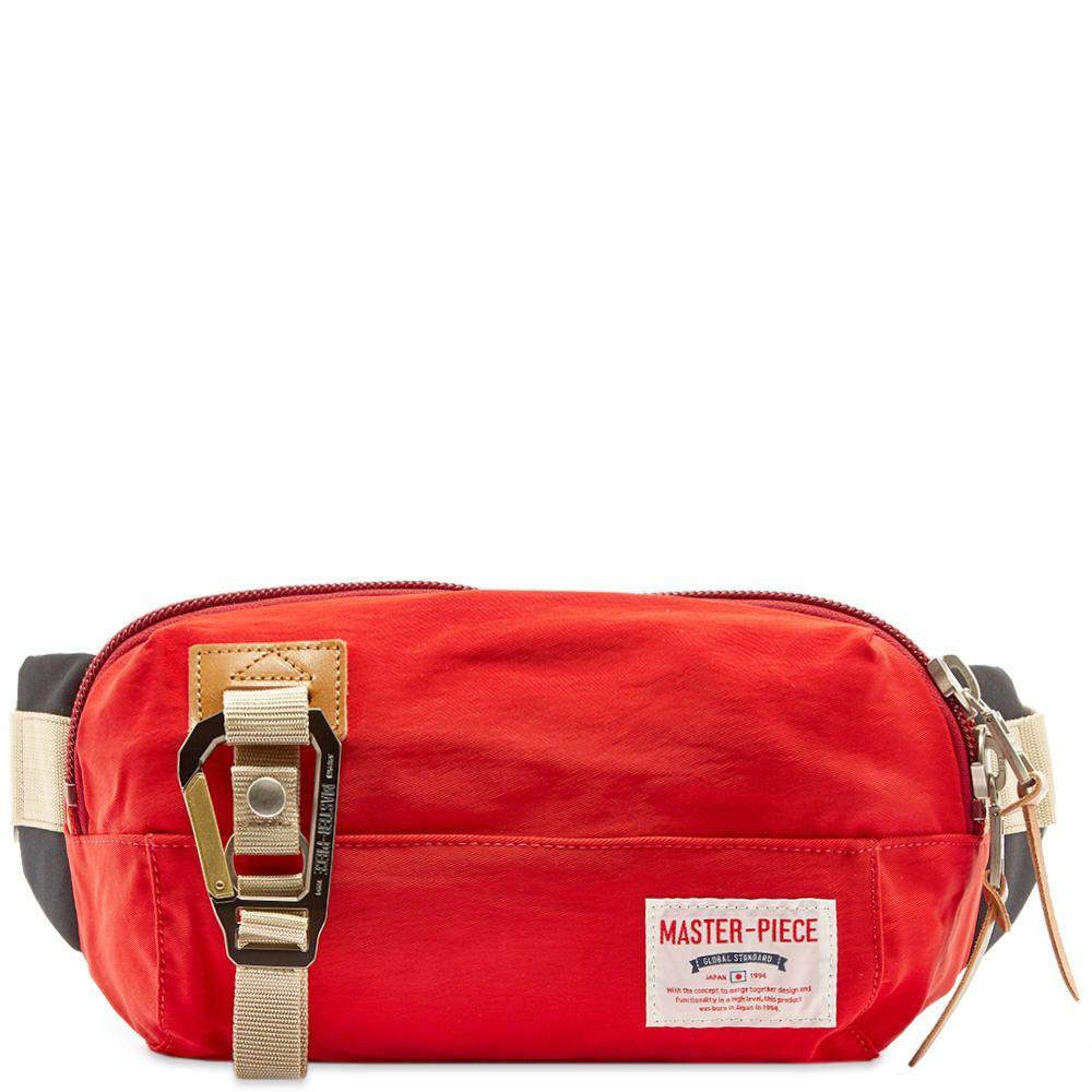 マスターピース Master-Piece メンズ ボディバッグ・ウエストポーチ バッグ【link series waist bag】Red