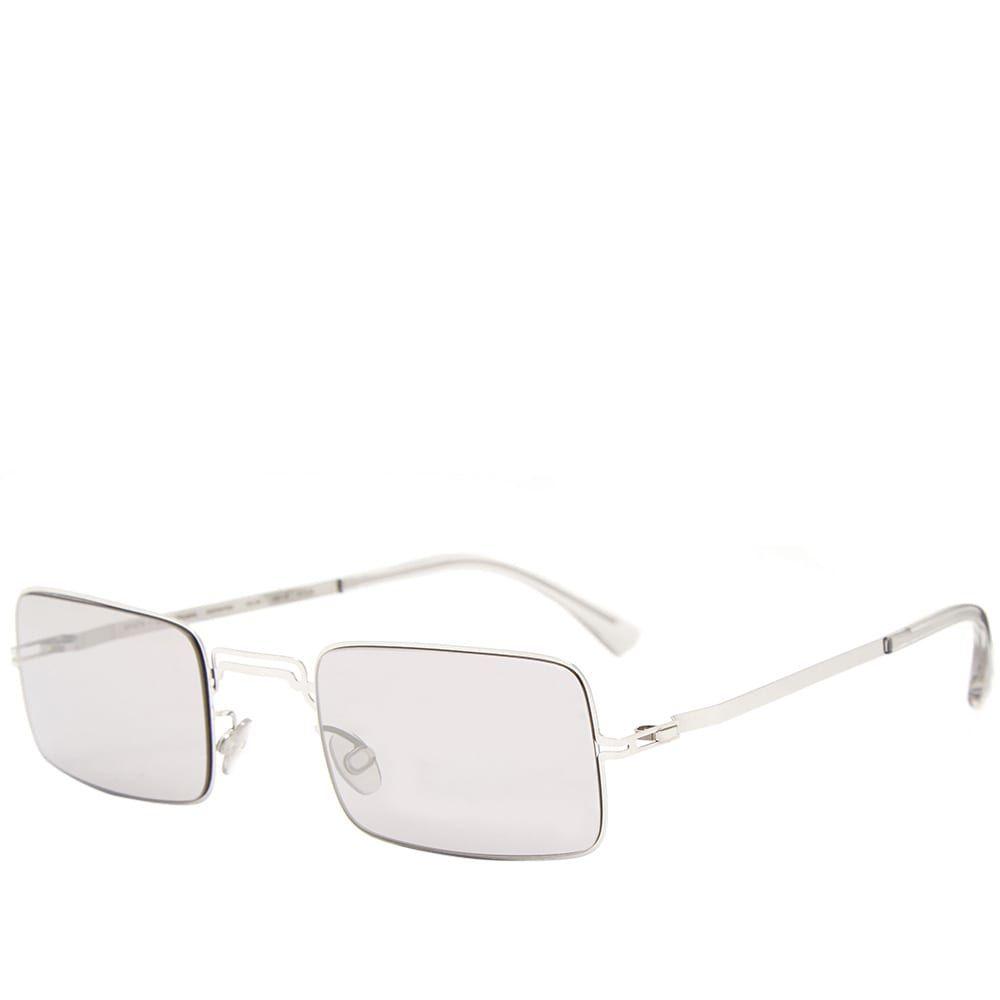 マイキータ MYKITA メンズ メガネ・サングラス 【x maison margiela mmcraft003 sunglasses】Shiny Silver/Warm Grey Flash