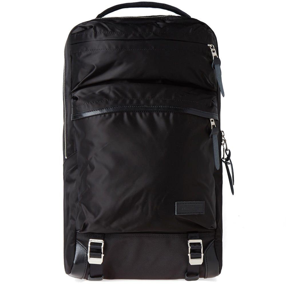 マスターピース Master-Piece メンズ バックパック・リュック バッグ【lightning zip backpack】Black