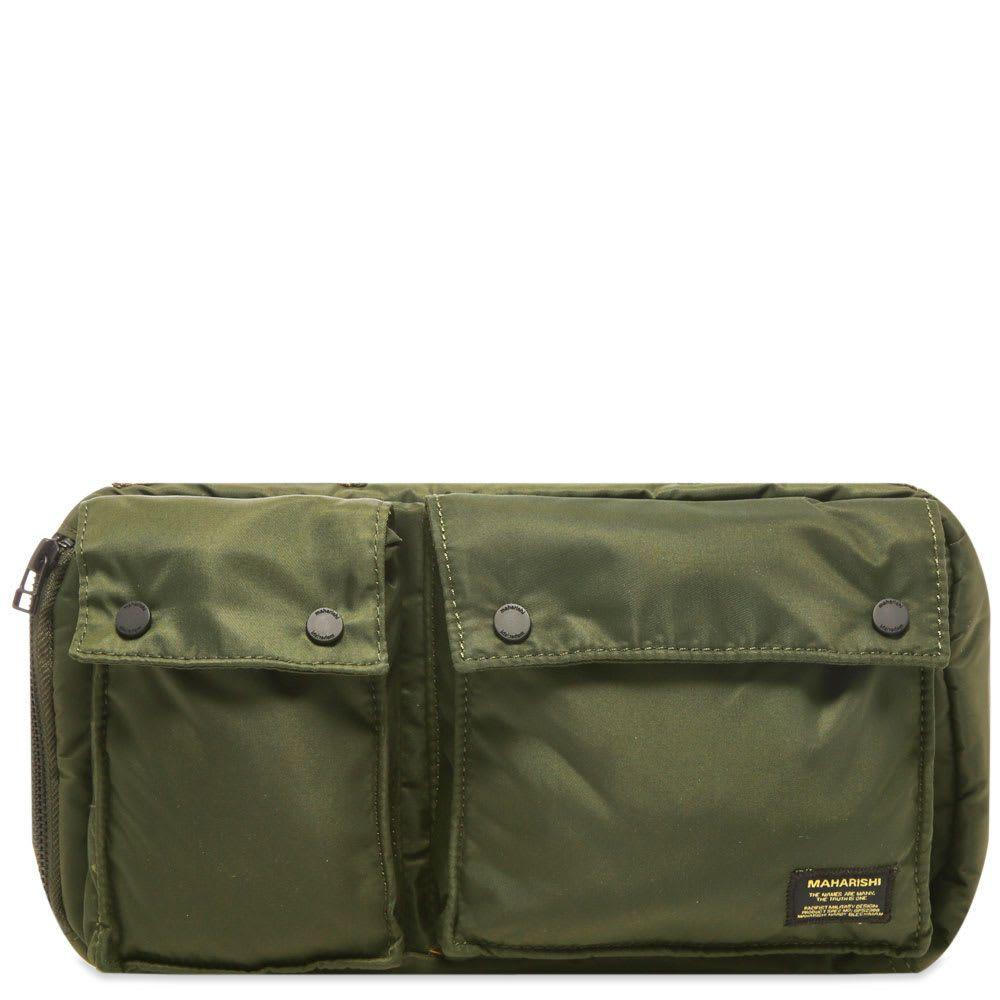 マハリシ Maharishi メンズ ボディバッグ・ウエストポーチ バッグ【nylon travel waist bag】Olive