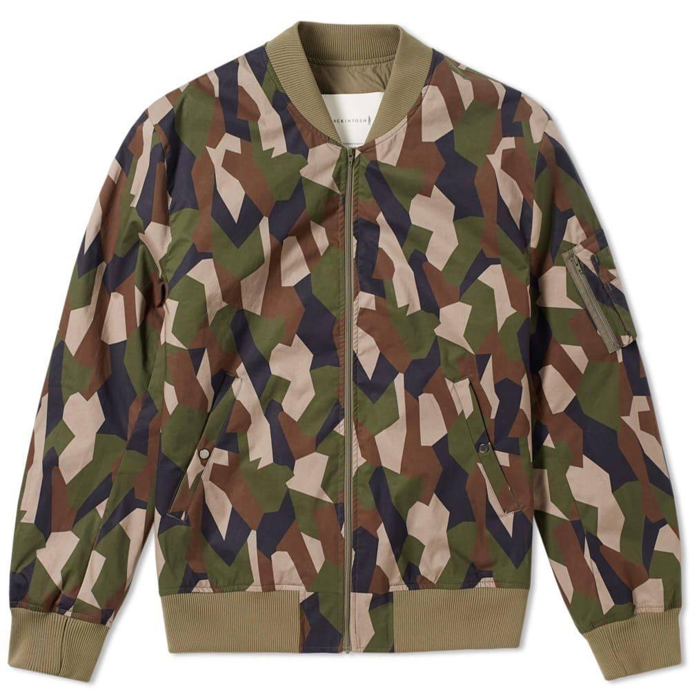 マッキントッシュ Mackintosh メンズ ブルゾン ミリタリージャケット アウター【lightweight ma-1 bomber jacket】Camouflage