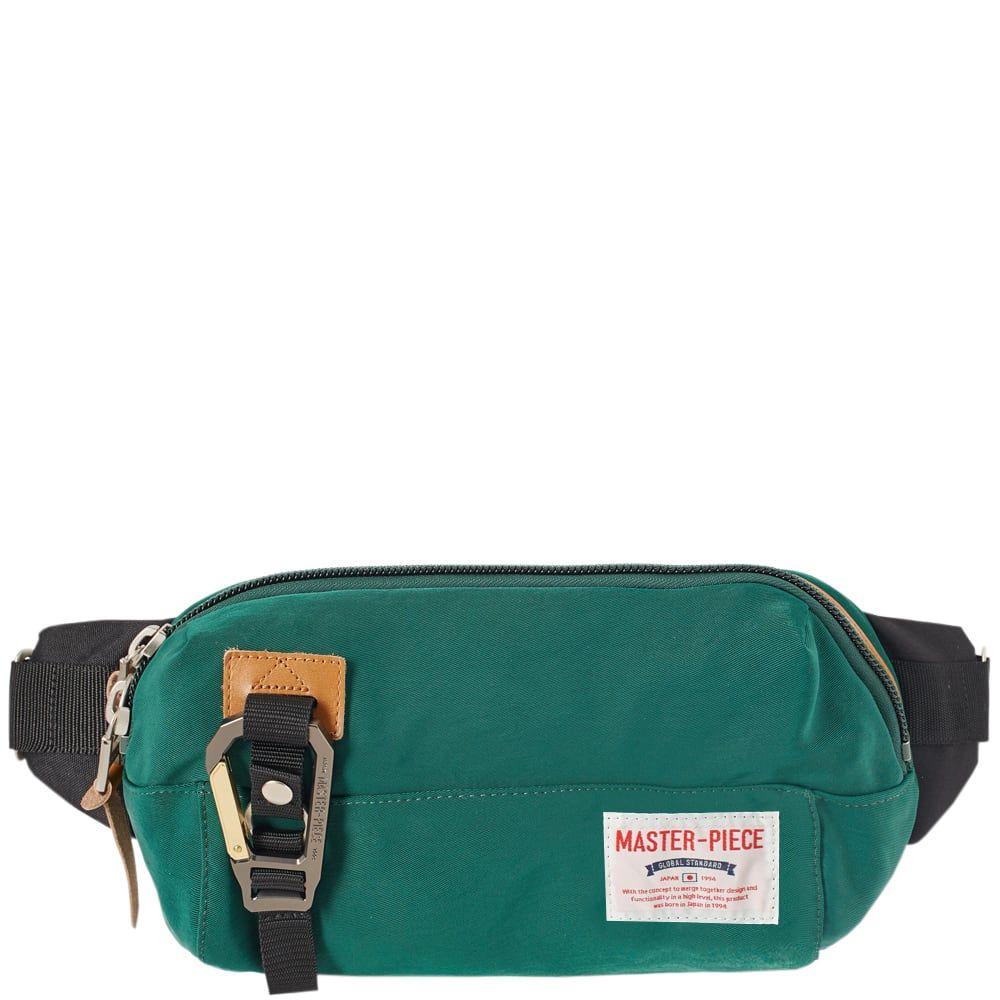 マスターピース Master-Piece メンズ ボディバッグ・ウエストポーチ バッグ【link series waist bag】Green