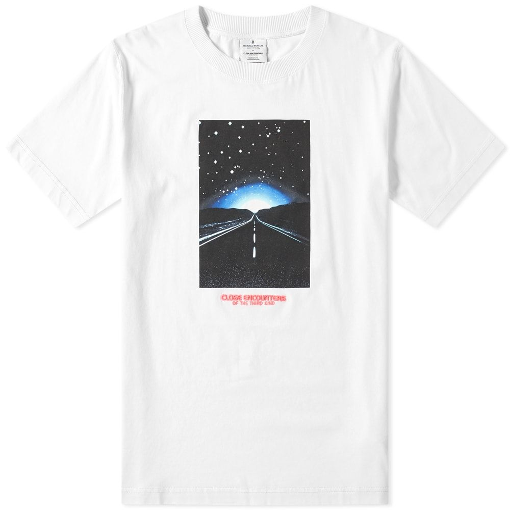 マルセロバーロン Marcelo Burlon メンズ Tシャツ トップス【close encounters highway tee】White/Multi