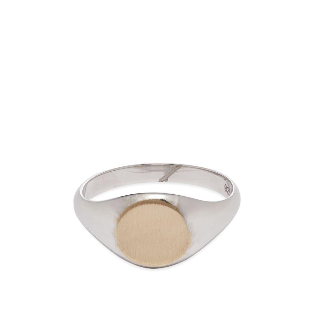 ミアンサイ Miansai メンズ 指輪・リング ジュエリー・アクセサリー【signet ring】Silver/Gold