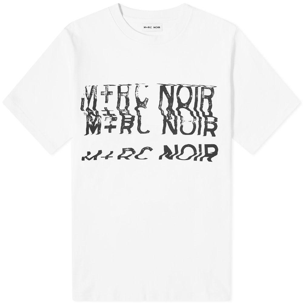 マルシェノア M+RC Noir メンズ Tシャツ トップス【distortion tee】White