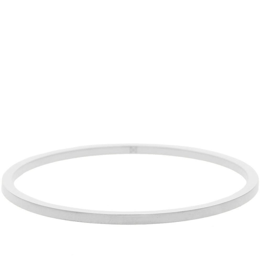 ミニマラックス Minimalux メンズ ブレスレット バングル ジュエリー・アクセサリー【sterling silver round bangle】Sterling Silver