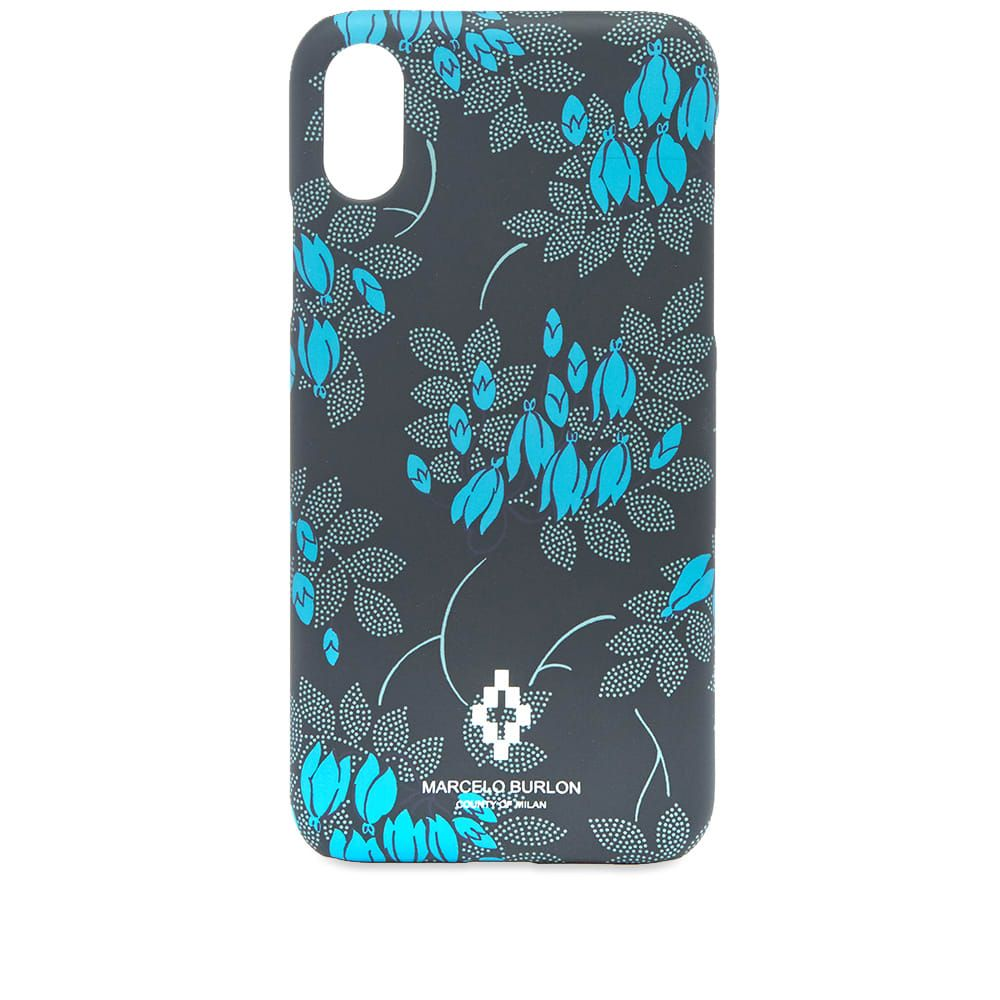 マルセロバーロン Marcelo Burlon メンズ iPhone (X)ケース 【allover flower iphone x case】Multi