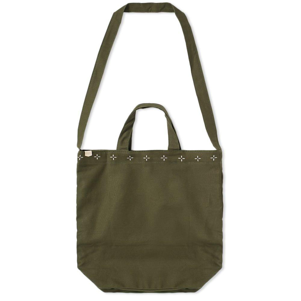 メープル Maple メンズ トートバッグ キャンバストート バッグ【canvas tote bag】Olive