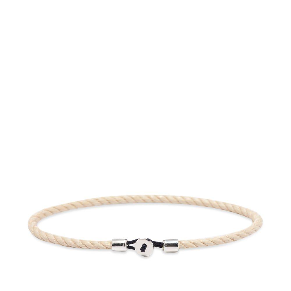 ミアンサイ Miansai メンズ ブレスレット ジュエリー・アクセサリー【nexus rope bracelet】Cotton/Sterling Silver