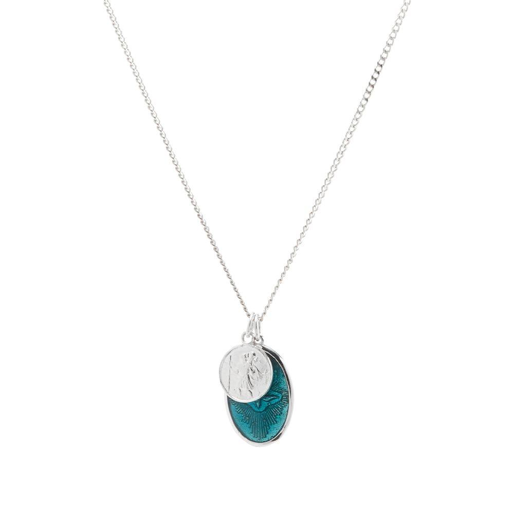 ミアンサイ Miansai メンズ ネックレス ジュエリー・アクセサリー【mini dove pendant necklace】Silver