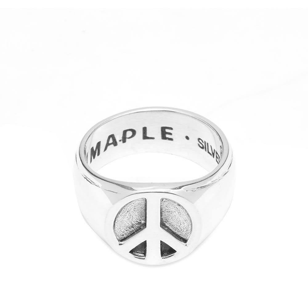 メープル Maple メンズ 指輪・リング ジュエリー・アクセサリー【peace ring】Silver