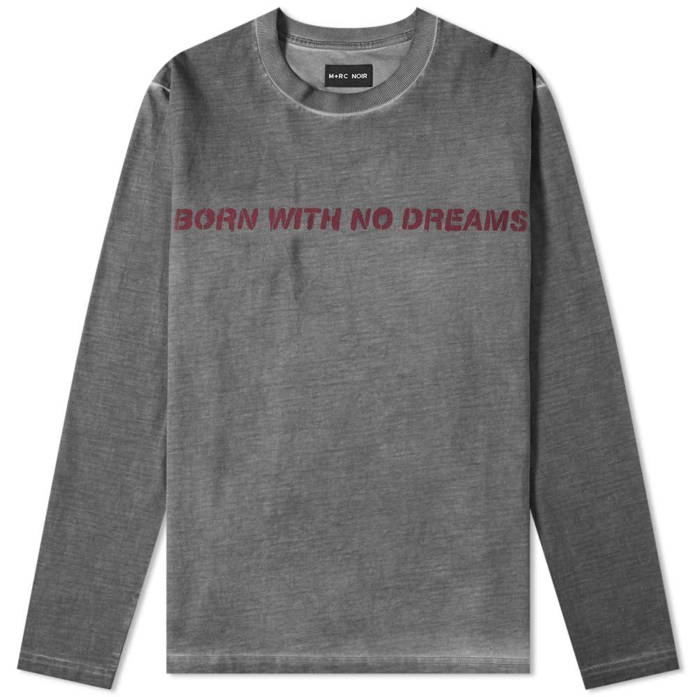 マルシェノア M+RC Noir メンズ 長袖Tシャツ トップス【bwnd long sleeve tee】Grey