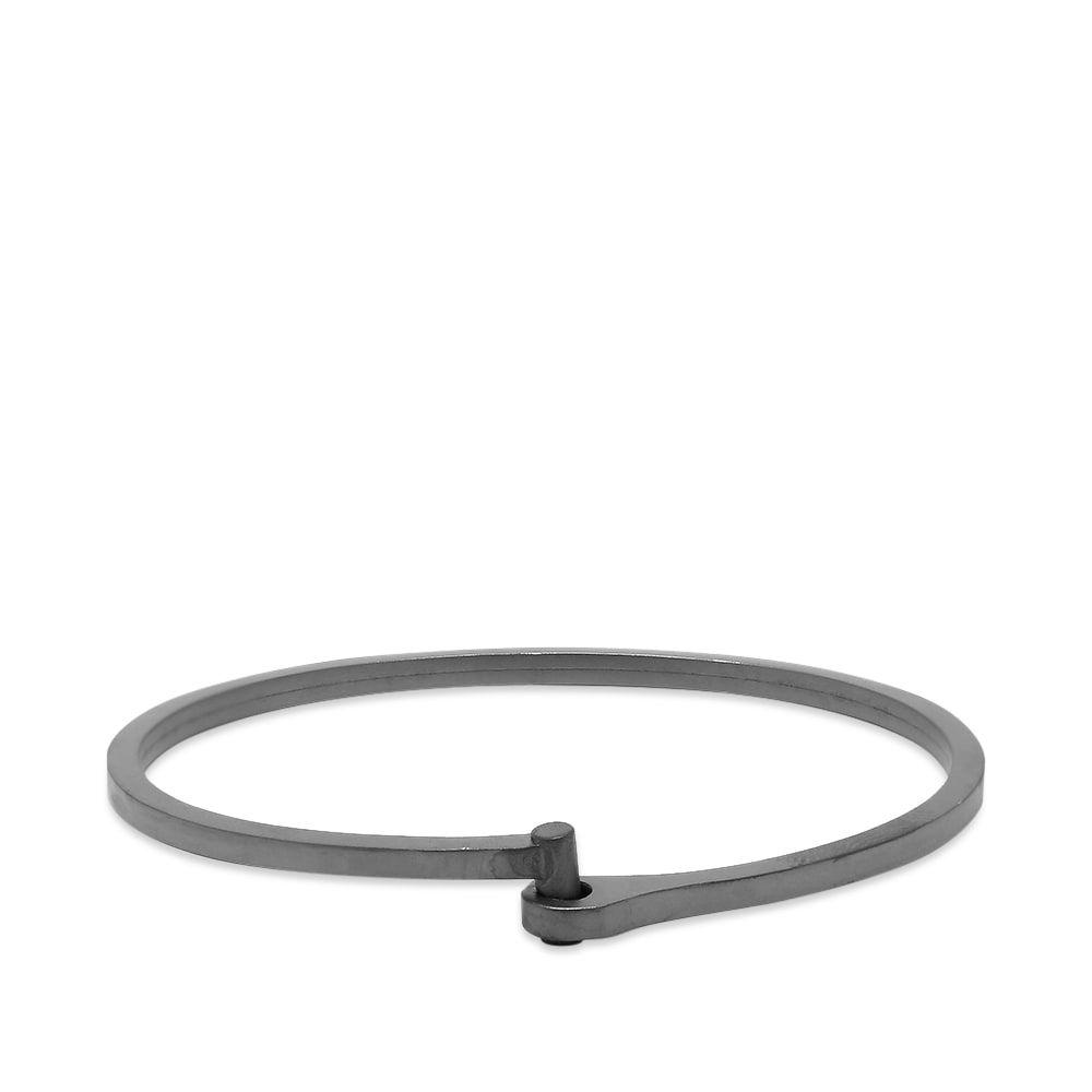 ミアンサイ Miansai メンズ ブレスレット ジュエリー・アクセサリー【nyx cuff】Matte Black Rhodium