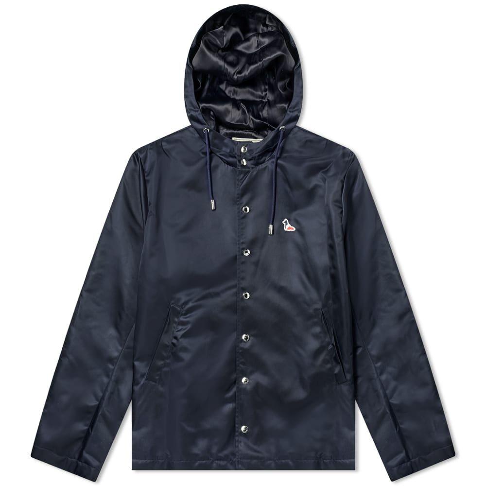 メゾン キツネ Maison Kitsune メンズ ジャケット アウター【toni hooded jacket】Navy