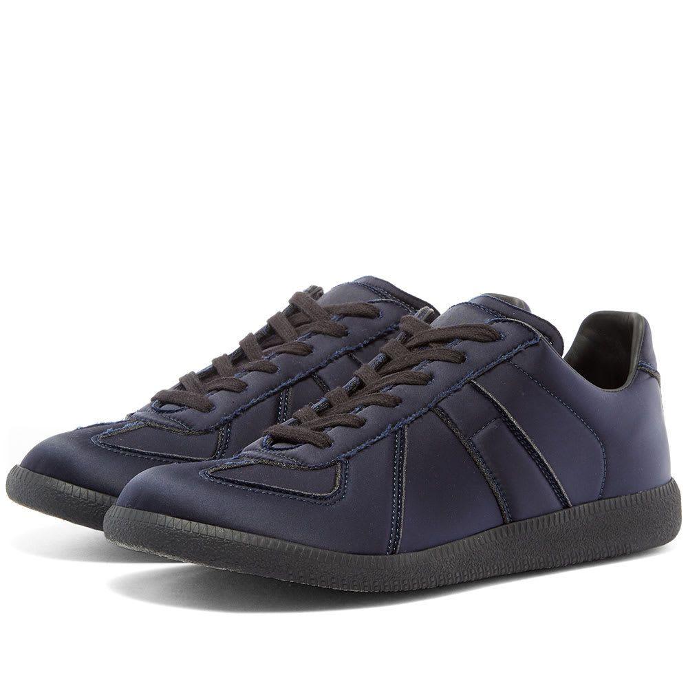 メゾン マルジェラ Maison Margiela メンズ シューズ・靴 スニーカー【22 Satin Replica Sneaker】Blue