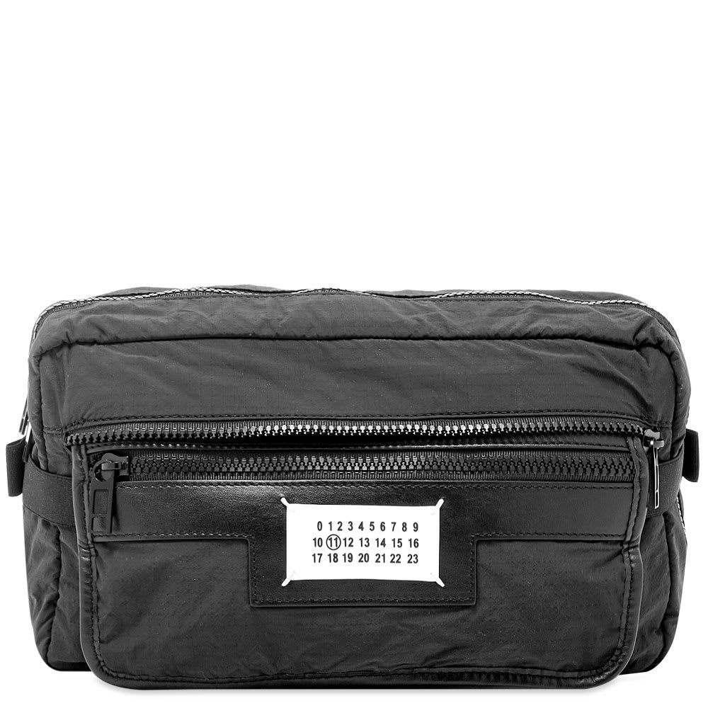メゾン マルジェラ Maison Margiela メンズ ボディバッグ・ウエストポーチ バッグ【11 packable nylon & leather waist bag】Black