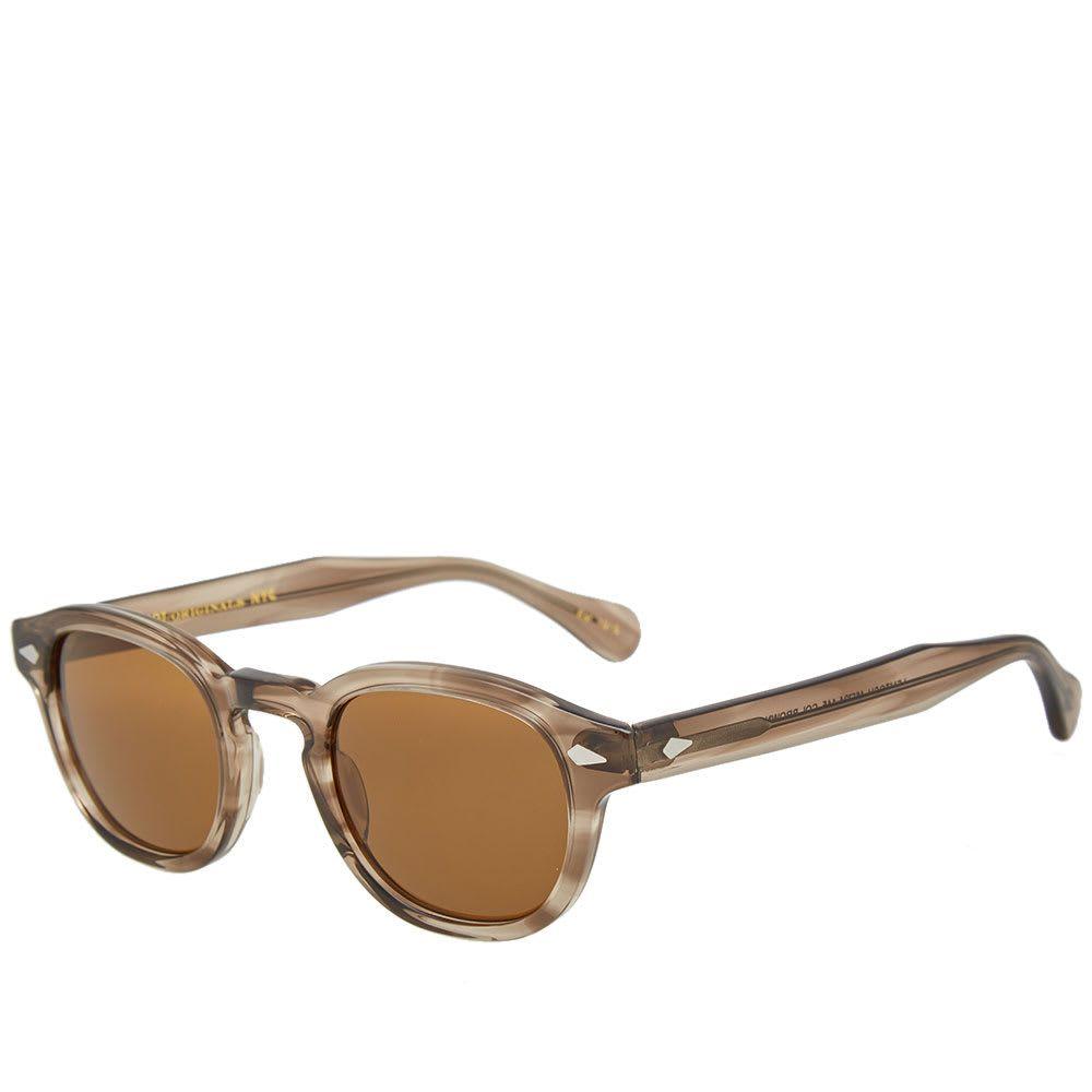 モスコット Moscot メンズ メガネ・サングラス 【lemtosh sunglasses】Brown Ash/Cosmitan Brown