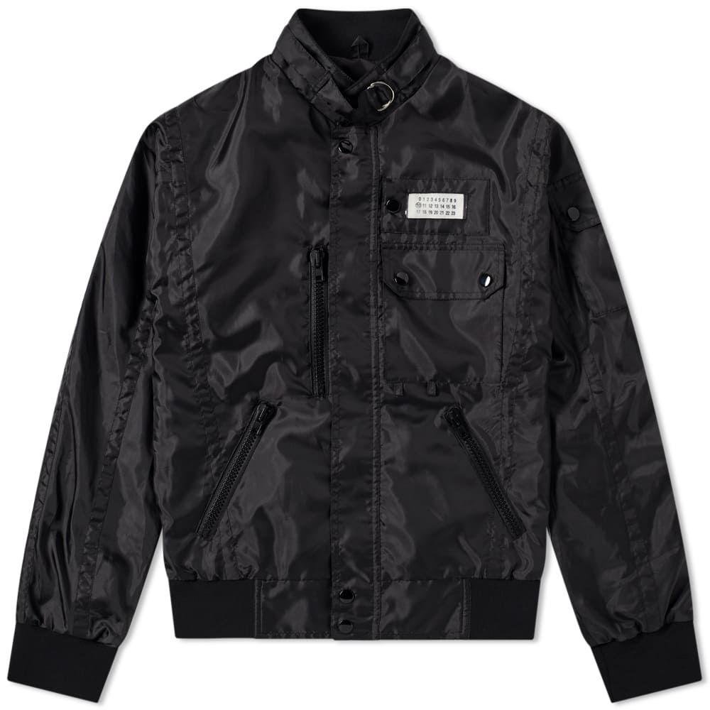 メゾン マルジェラ Maison Margiela メンズ ジャケット アウター【14 nylon logo sports jacket】Black