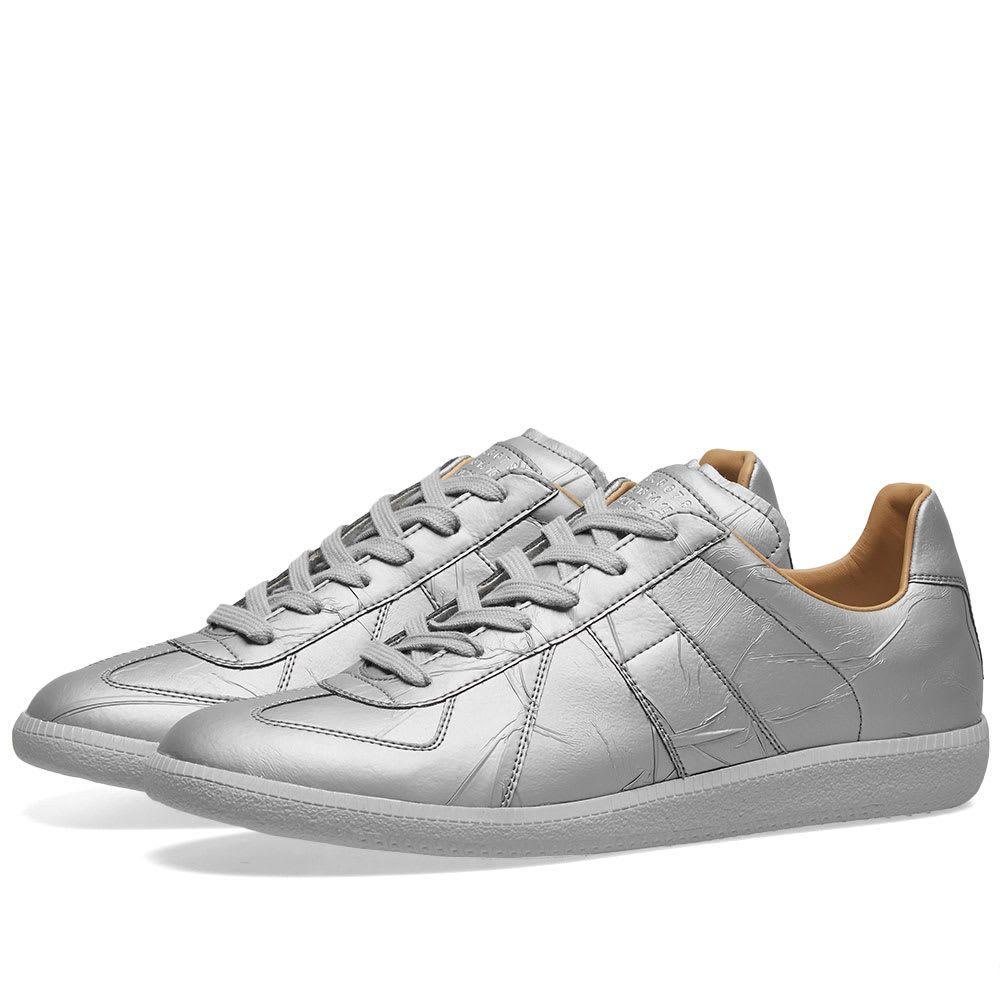 メゾン マルジェラ Maison Margiela メンズ シューズ・靴 スニーカー【22 Taped Replica Sneaker】Metallic Grey