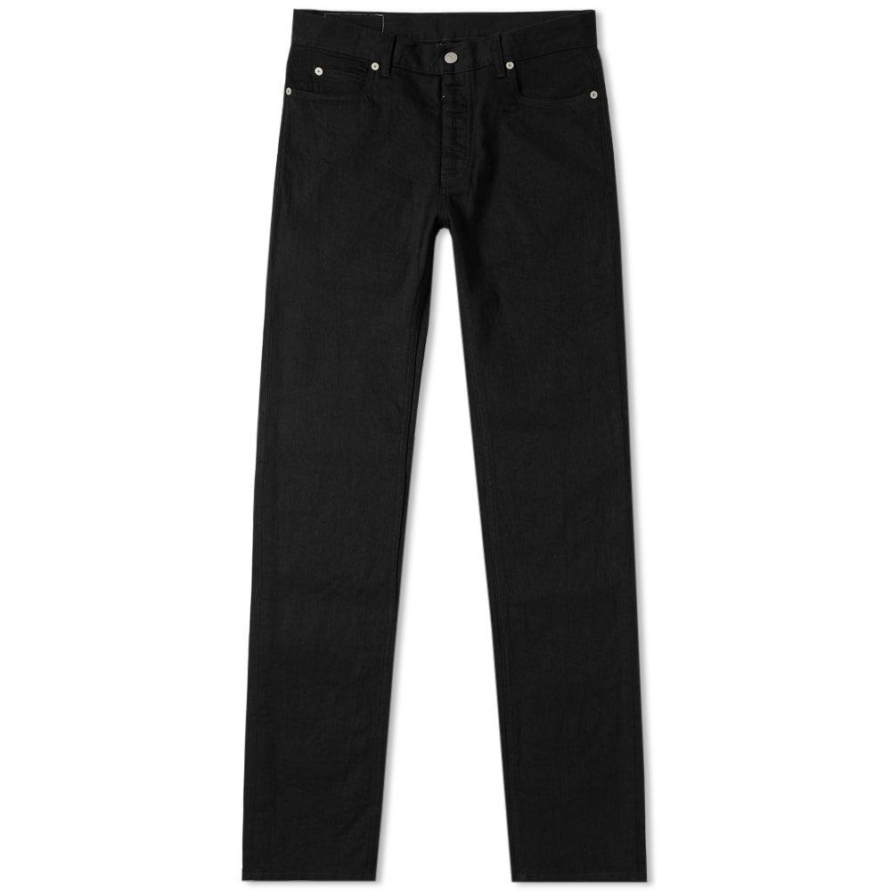 メゾン マルジェラ Maison Margiela メンズ ジーンズ・デニム ボトムス・パンツ【14 slim fit raw jean】Black