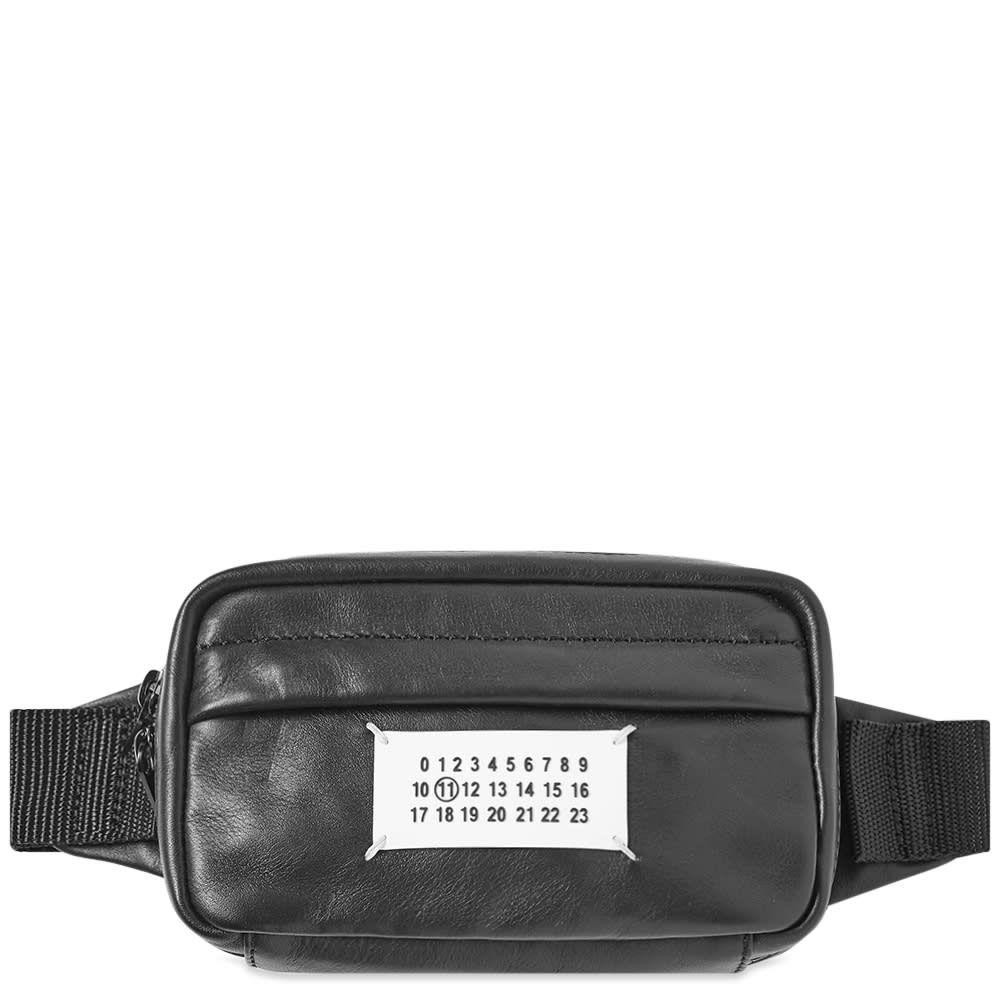 メゾン マルジェラ Maison Margiela メンズ ボディバッグ・ウエストポーチ バッグ【11 leather waist bag】Black
