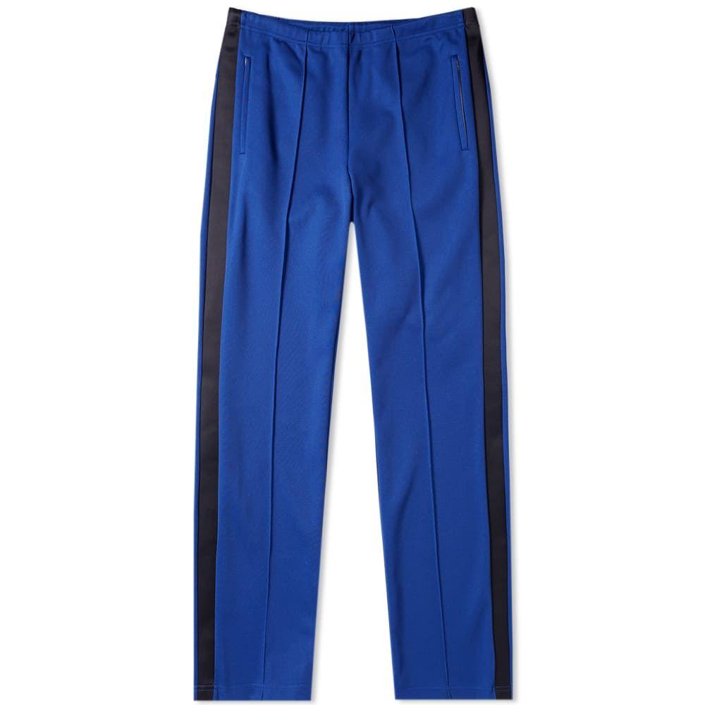 メゾン マルジェラ Maison Margiela メンズ スウェット・ジャージ ボトムス・パンツ【14 side stripe track pant】Royal Blue