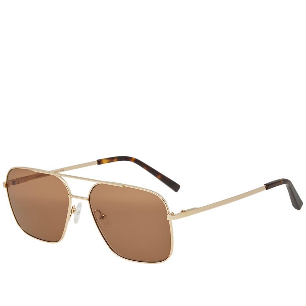 モスコット Moscot メンズ メガネ・サングラス 【shtarker sunglasses】Gold/Brown