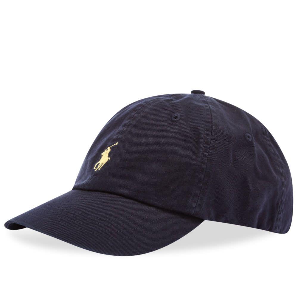 ラルフ ローレン Polo Ralph Lauren メンズ キャップ ベースボールキャップ 帽子【classic baseball cap】Relay Blue/Wicket Yellow