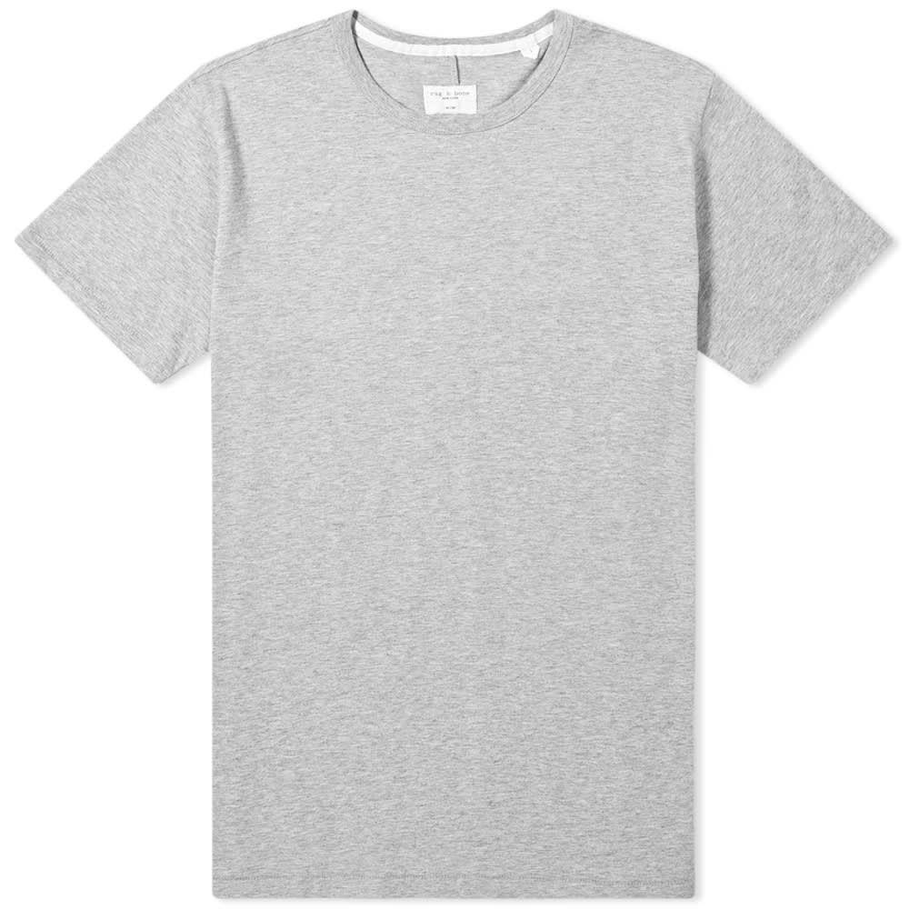 ラグ&ボーン Rag & Bone メンズ Tシャツ トップス【classic base tee】Grey Heather