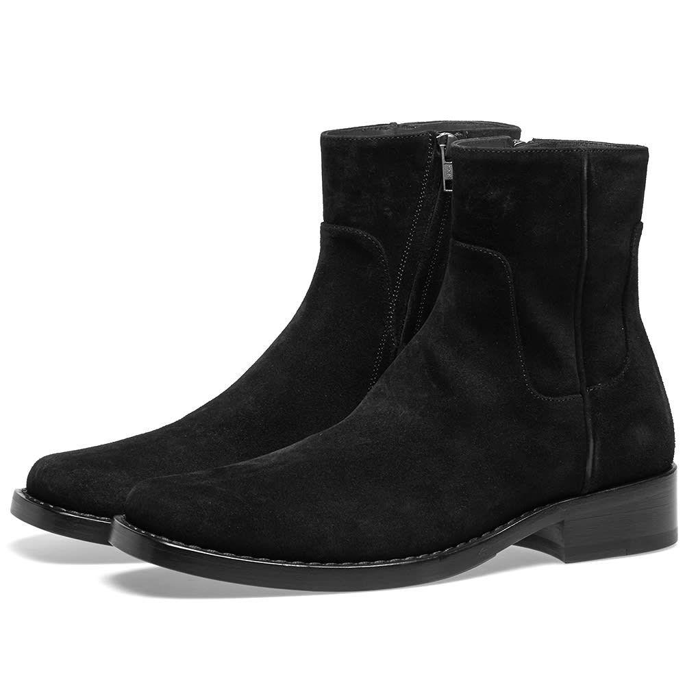 ラフ シモンズ Raf Simons メンズ シューズ・靴 ブーツ【Low Classic Boot】Black