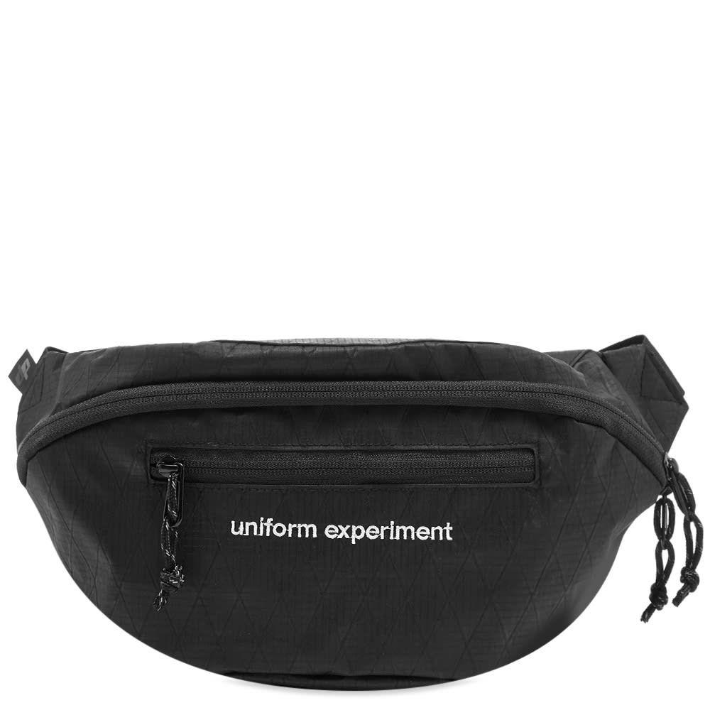 ユニフォームエクスペリメント Uniform Experiment メンズ ボディバッグ・ウエストポーチ バッグ【waist bag】Black