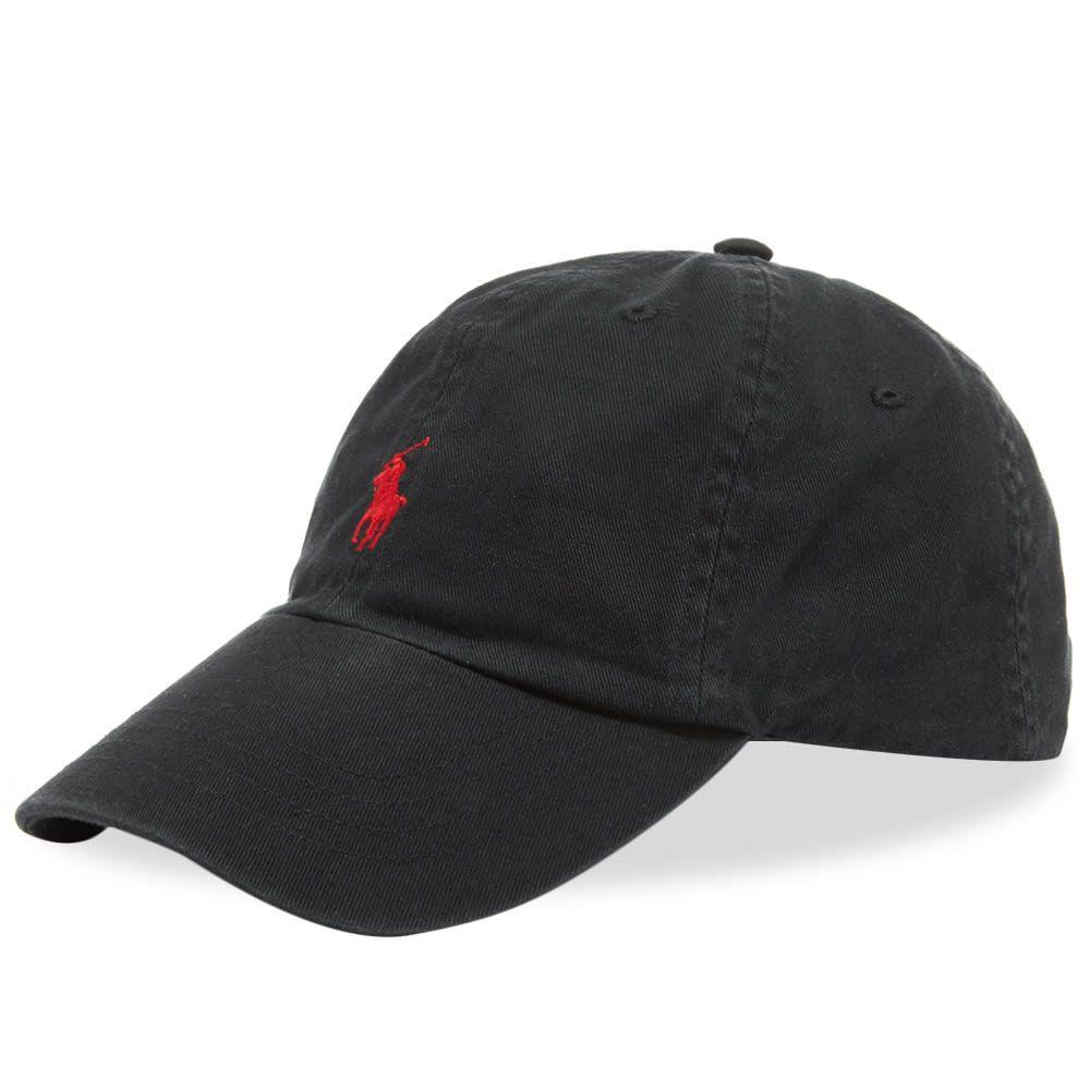 ラルフ ローレン Polo Ralph Lauren メンズ キャップ ベースボールキャップ 帽子【classic baseball cap】Black/Red