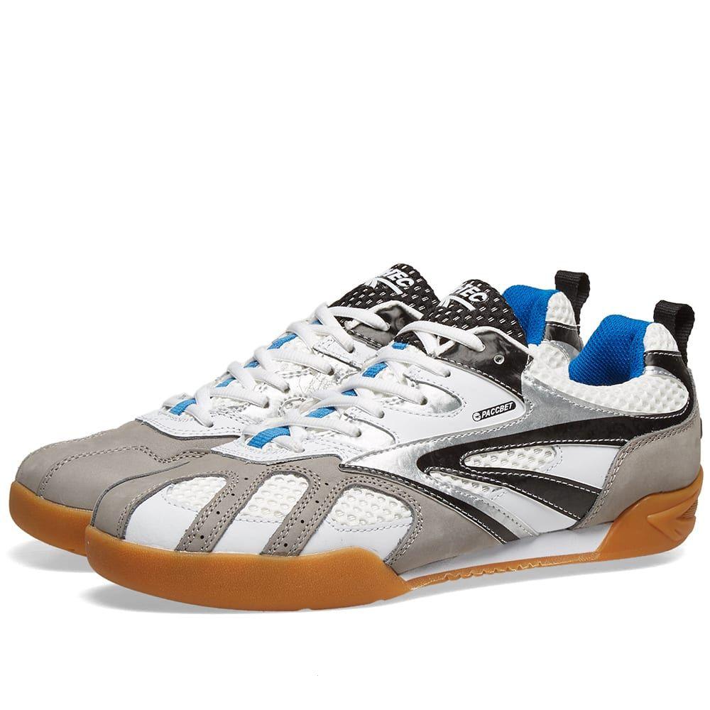 ラスベート PACCBET メンズ シューズ・靴 スニーカー【x Hi-Tec Sneaker】White
