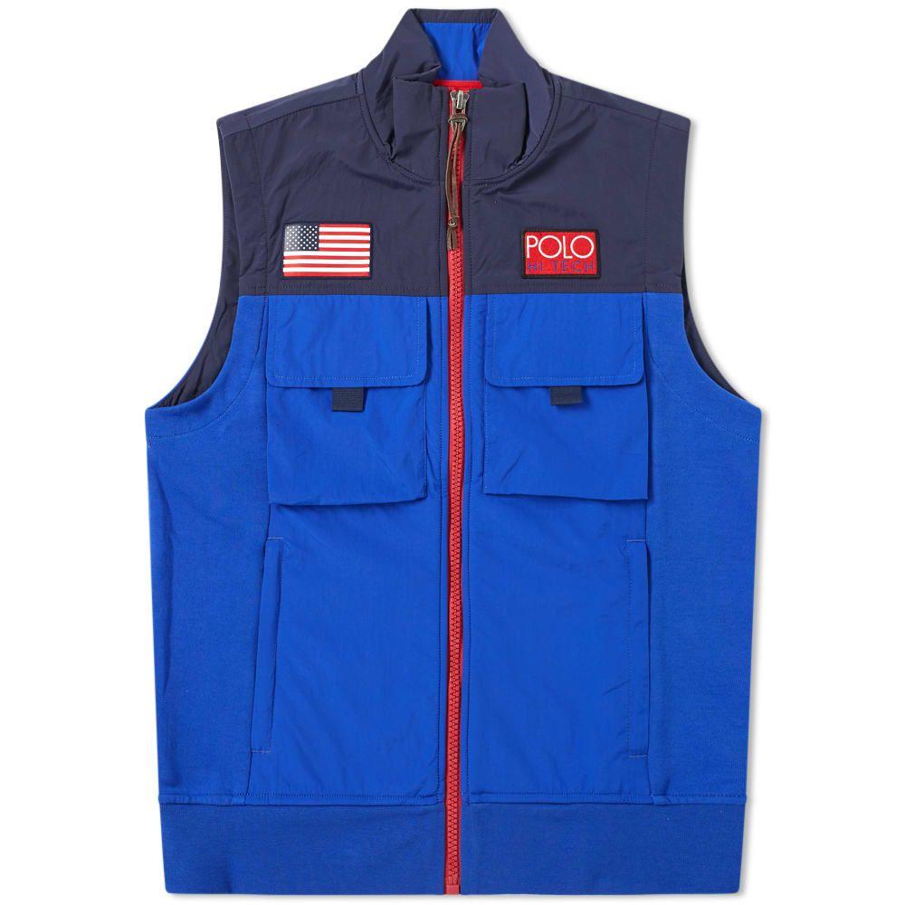 ラルフ ローレン Polo Ralph Lauren メンズ ベスト・ジレ トップス【hi-tech pocket gilet】Newport Navy& Bright Royal