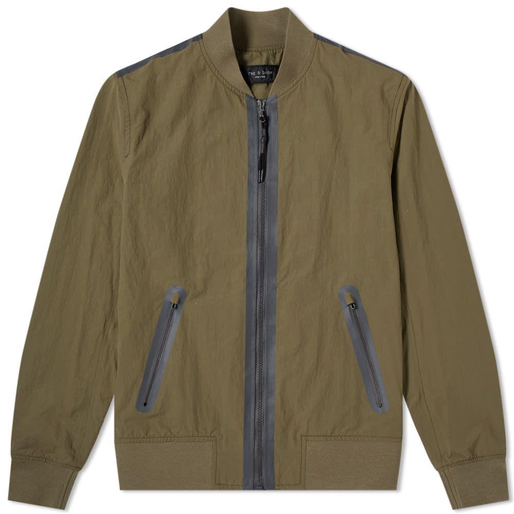 ラグ&ボーン Rag & Bone メンズ ブルゾン ミリタリージャケット アウター【tech bomber jacket】Army