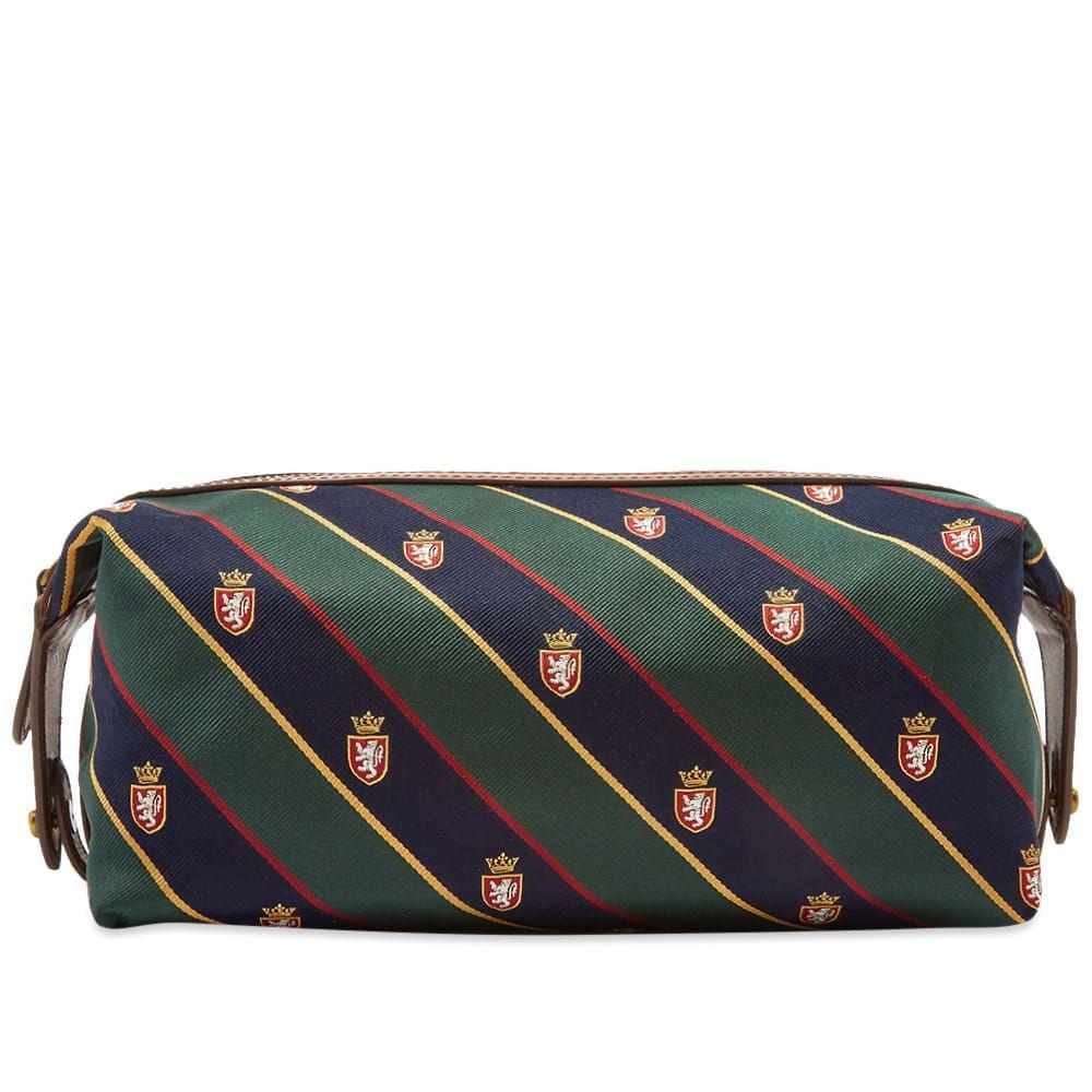 ラルフ ローレン Polo Ralph Lauren メンズ ポーチ トラベルポーチ【tie silk wash bag】Brown