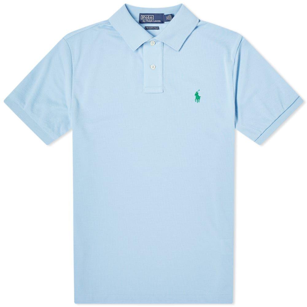 ラルフ ローレン Polo Ralph Lauren メンズ ポロシャツ トップス【sustainable polo】Baby Blue
